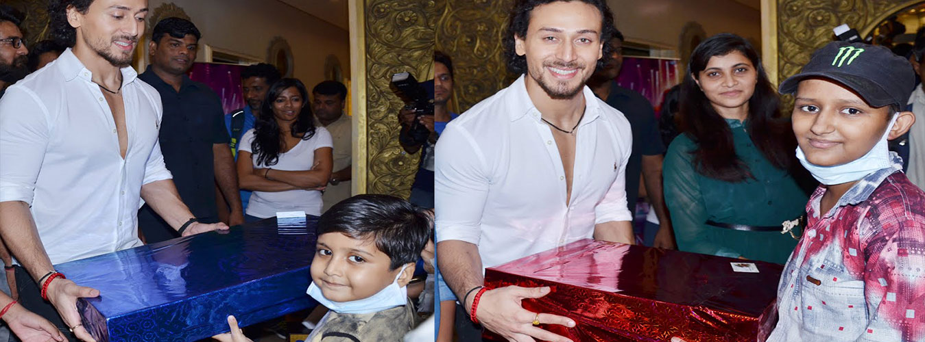 Cancer Patients Meeting Tiger Shroff